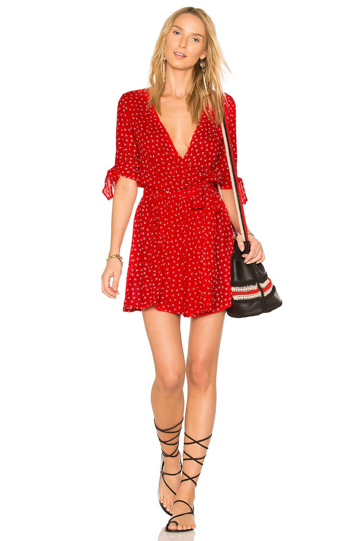 FAITHFULL THE BRAND X REVOLVE Oslo Dress in Rosario Red