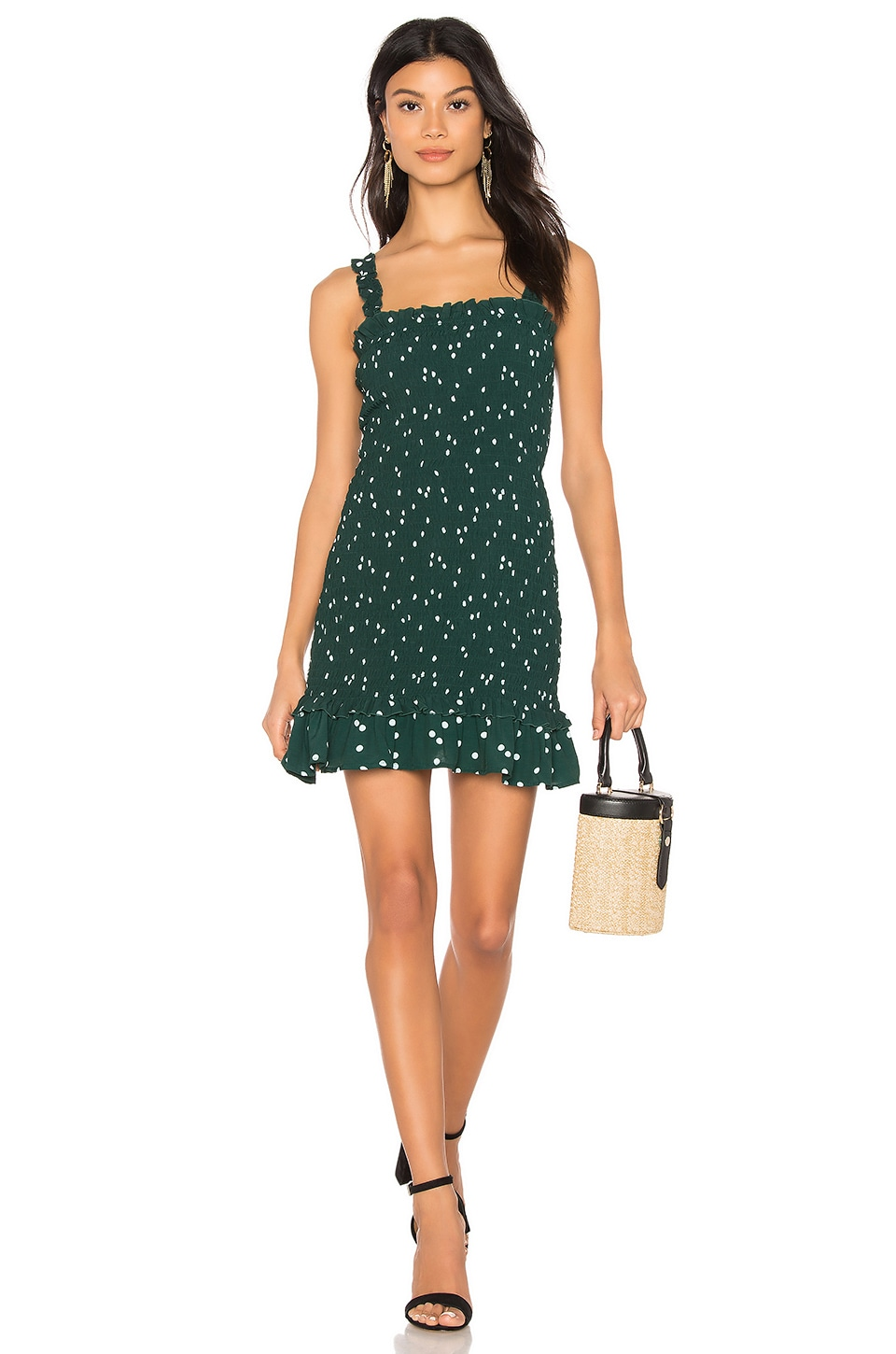 FAITHFULL THE BRAND Del Mar Dress in Green