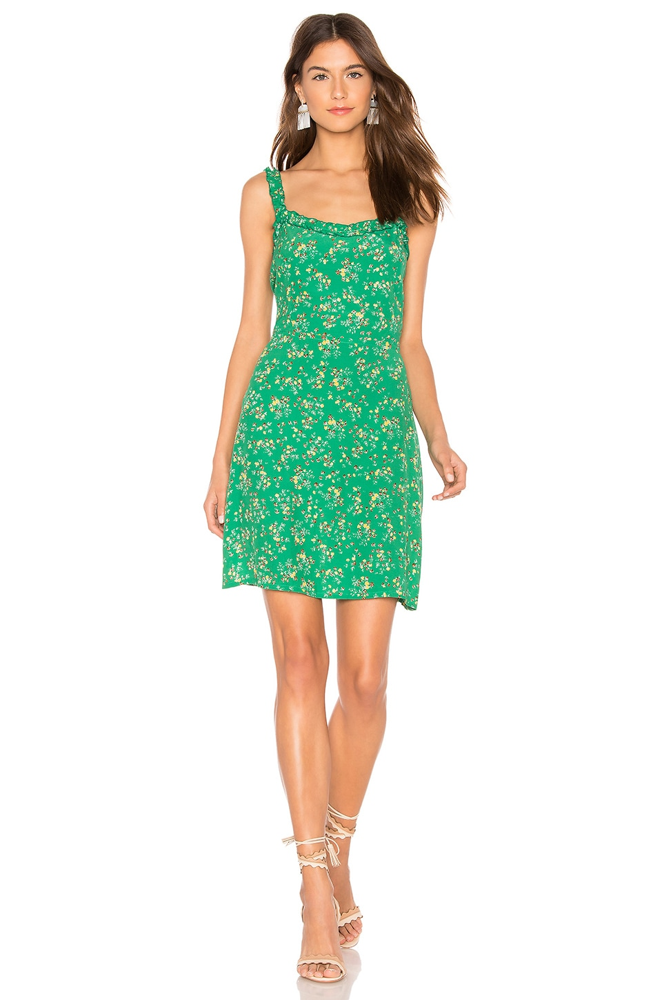 FAITHFULL THE BRAND Esther Dress in Audrey Floral