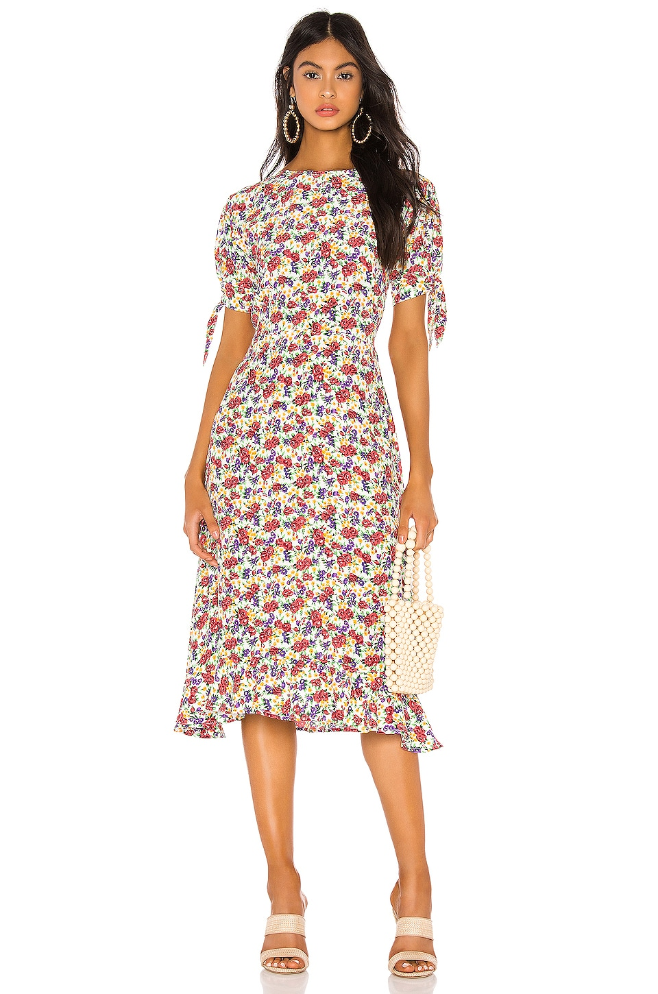 FAITHFULL THE BRAND Emilia Dress in Lumina Floral