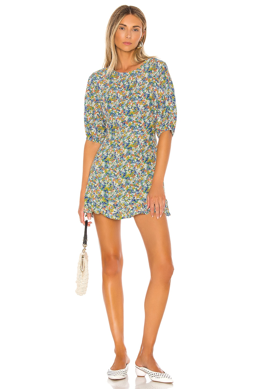 FAITHFULL THE BRAND Jeanette Dress in Vionett Floral
