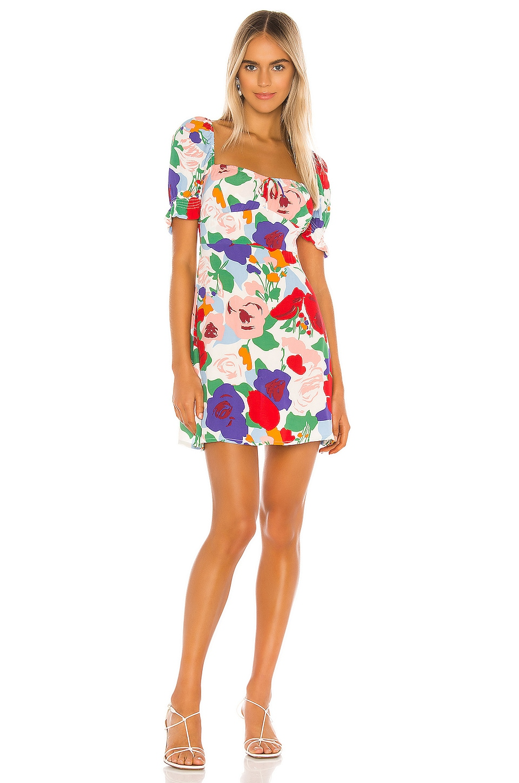FAITHFULL THE BRAND Iris Mini Dress in Anita Floral