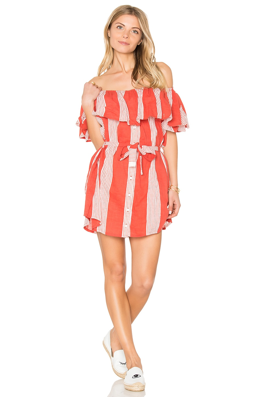 FAITHFULL THE BRAND Amalfi Dress in Picnic Stripe Pint