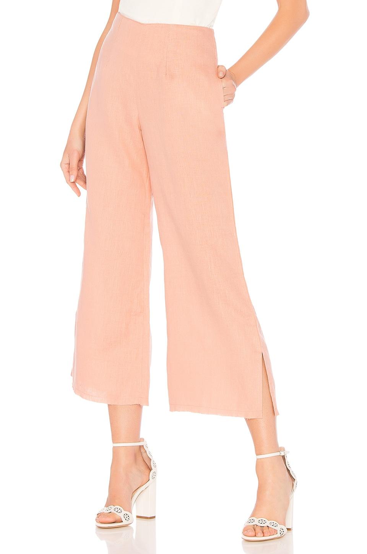 FAITHFULL THE BRAND Carmen Pants in Vintage Pink