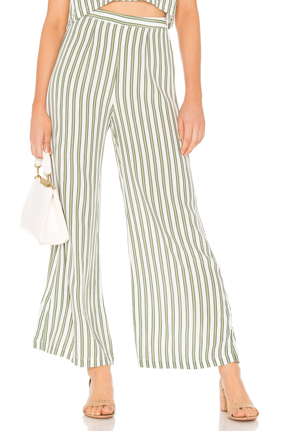 FAITHFULL THE BRAND Gabrielle Pants in Almeria Stripe