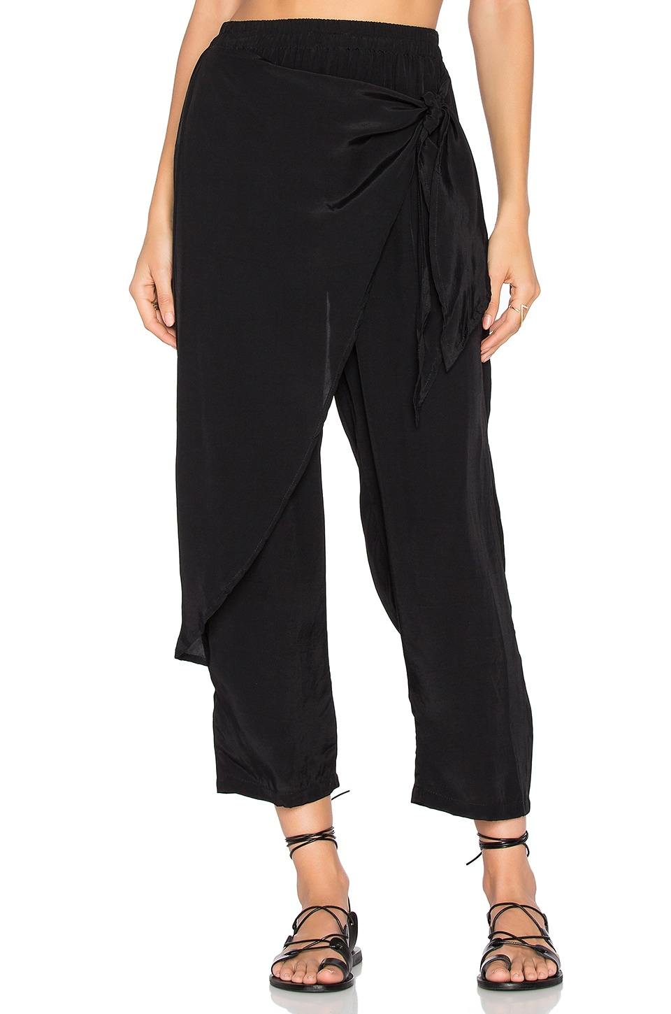 FAITHFULL THE BRAND x REVOLVE Lagoon Pants in Black