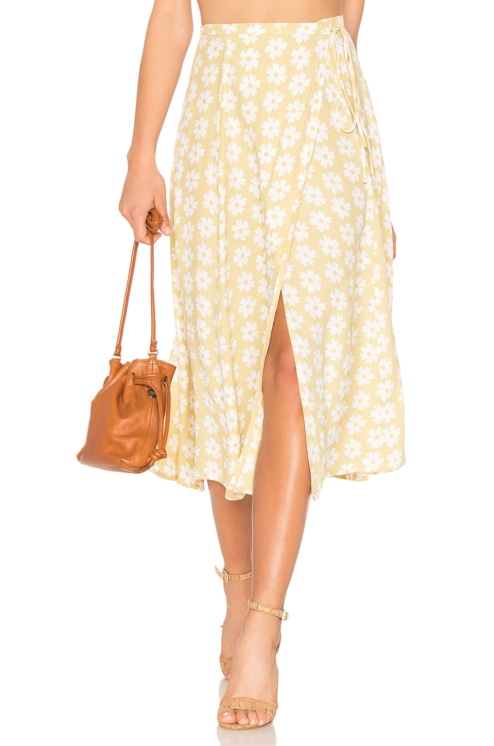 FAITHFULL THE BRAND Marieta Skirt in Afternoon Floral