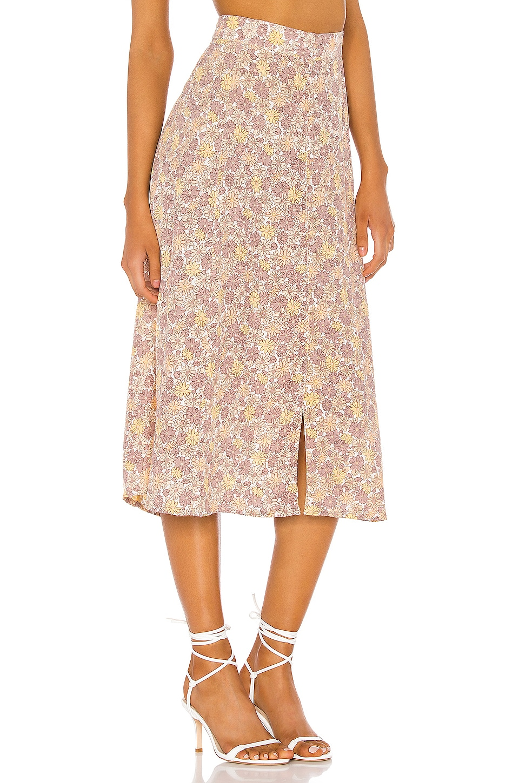 FAITHFULL THE BRAND Marin Skirt in Dusk Zoella Floral