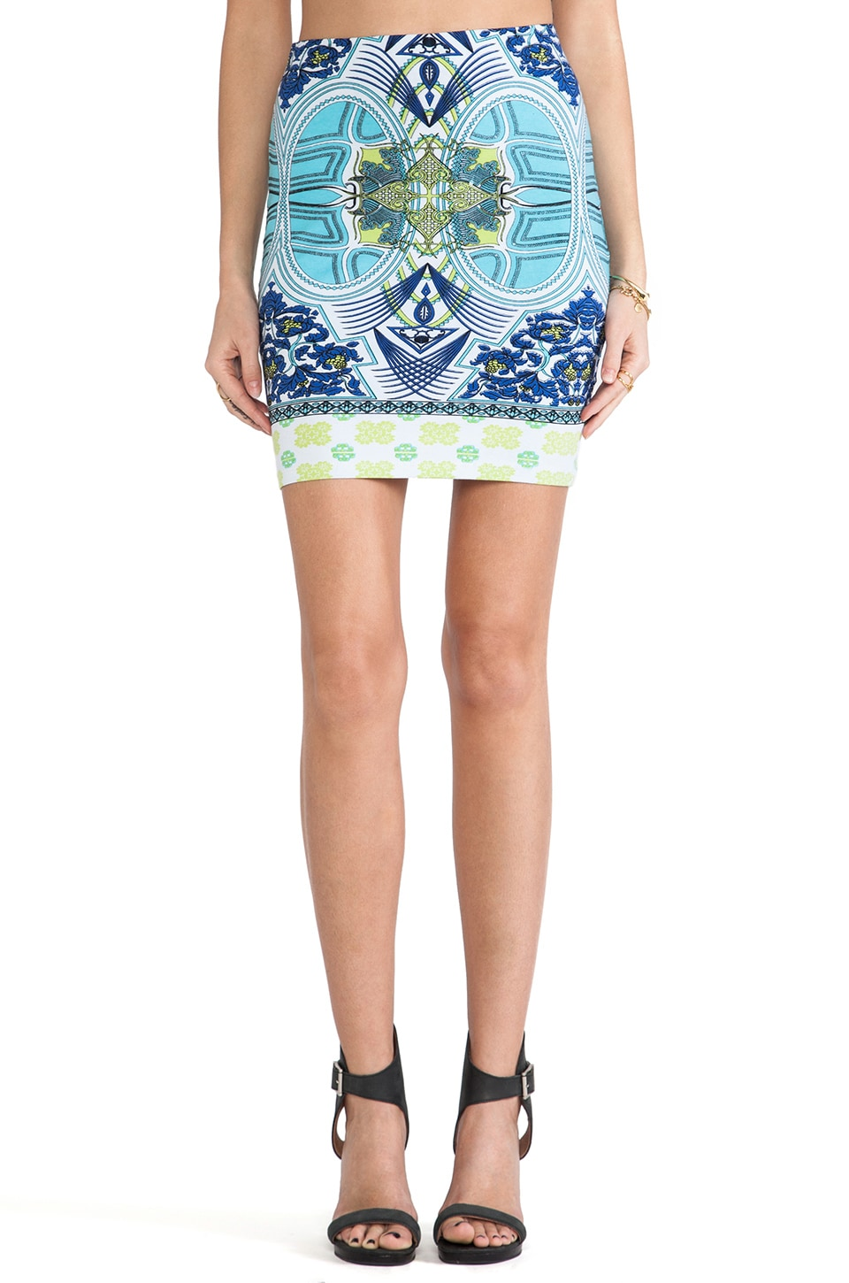FAIRGROUND Spectrum Skirt in Neo Geo