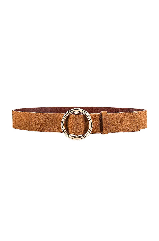 FRAME O Ring Belt in Cognac