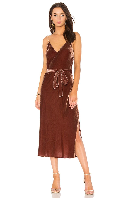 V Neck Slip Dress by FRAME