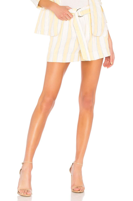 Linen Stripe Short