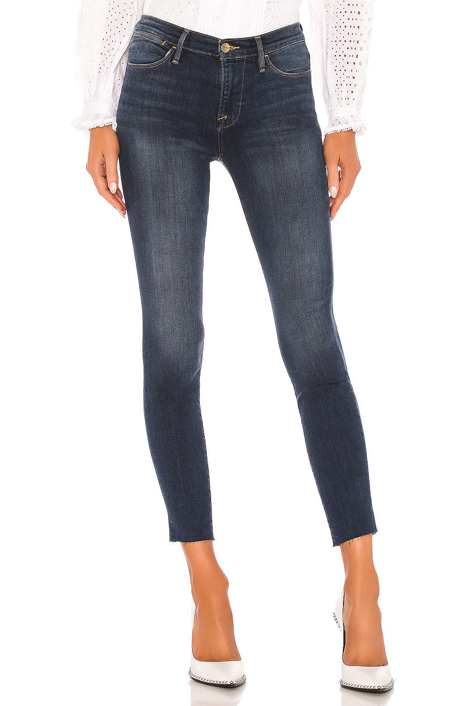 FRAME Le High Skinny in Fayette