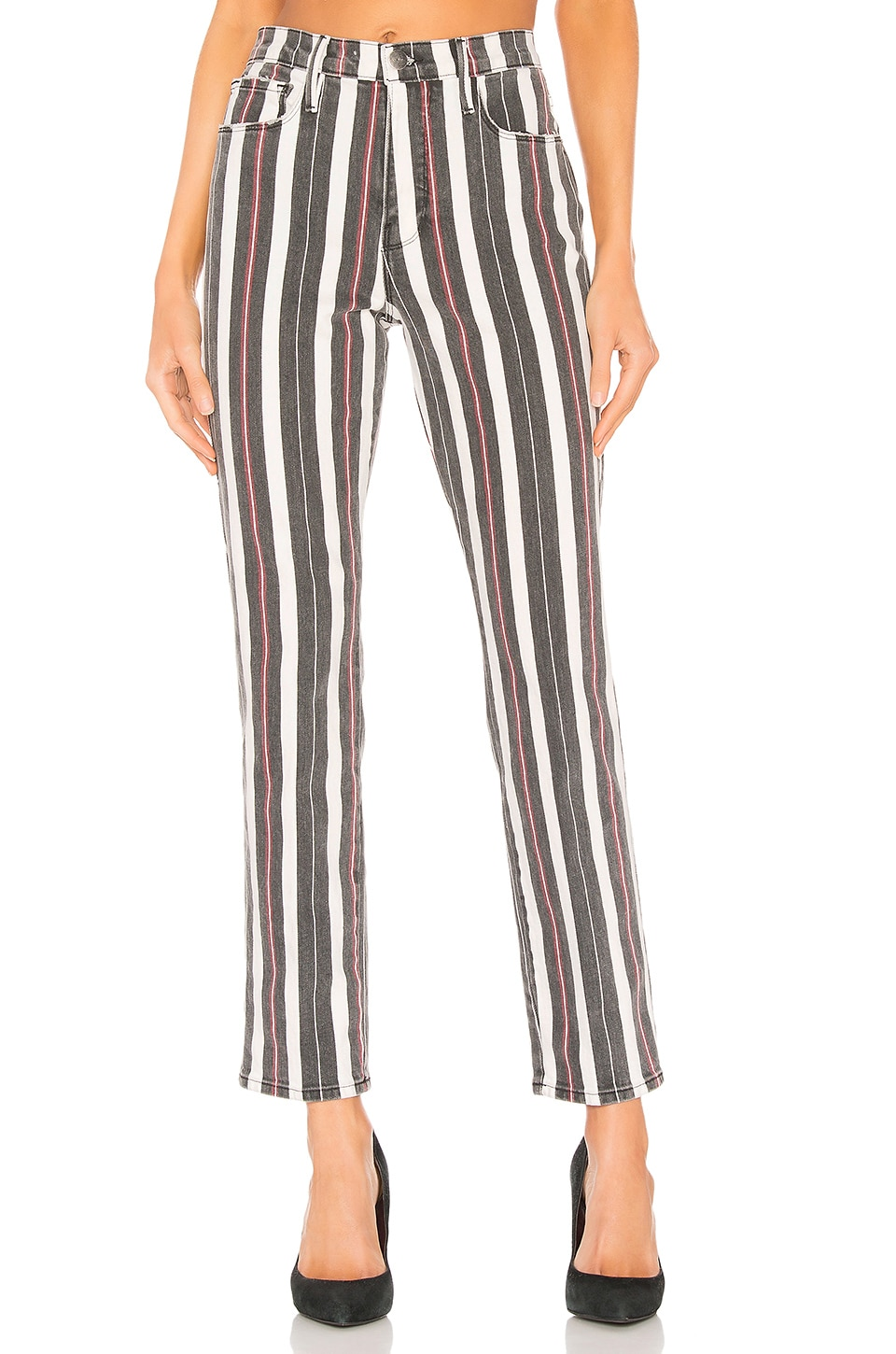 FRAME Le Sylvie Band Stripe in Band Stripe