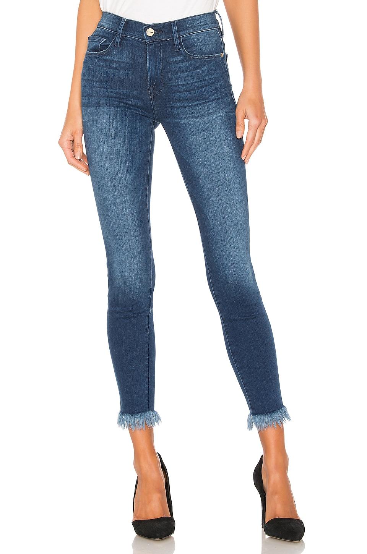 Frame Jeans Le Skinny De Jeanne Crop