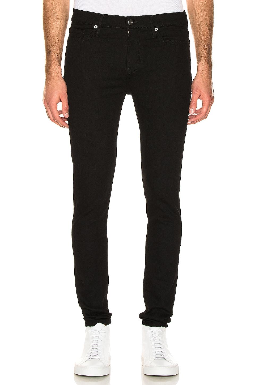 FRAME Jagger Skinny Jeans in Black
