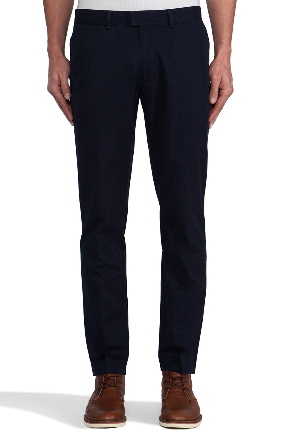 FARAH VINTAGE The Terence Twill Chino in Navy
