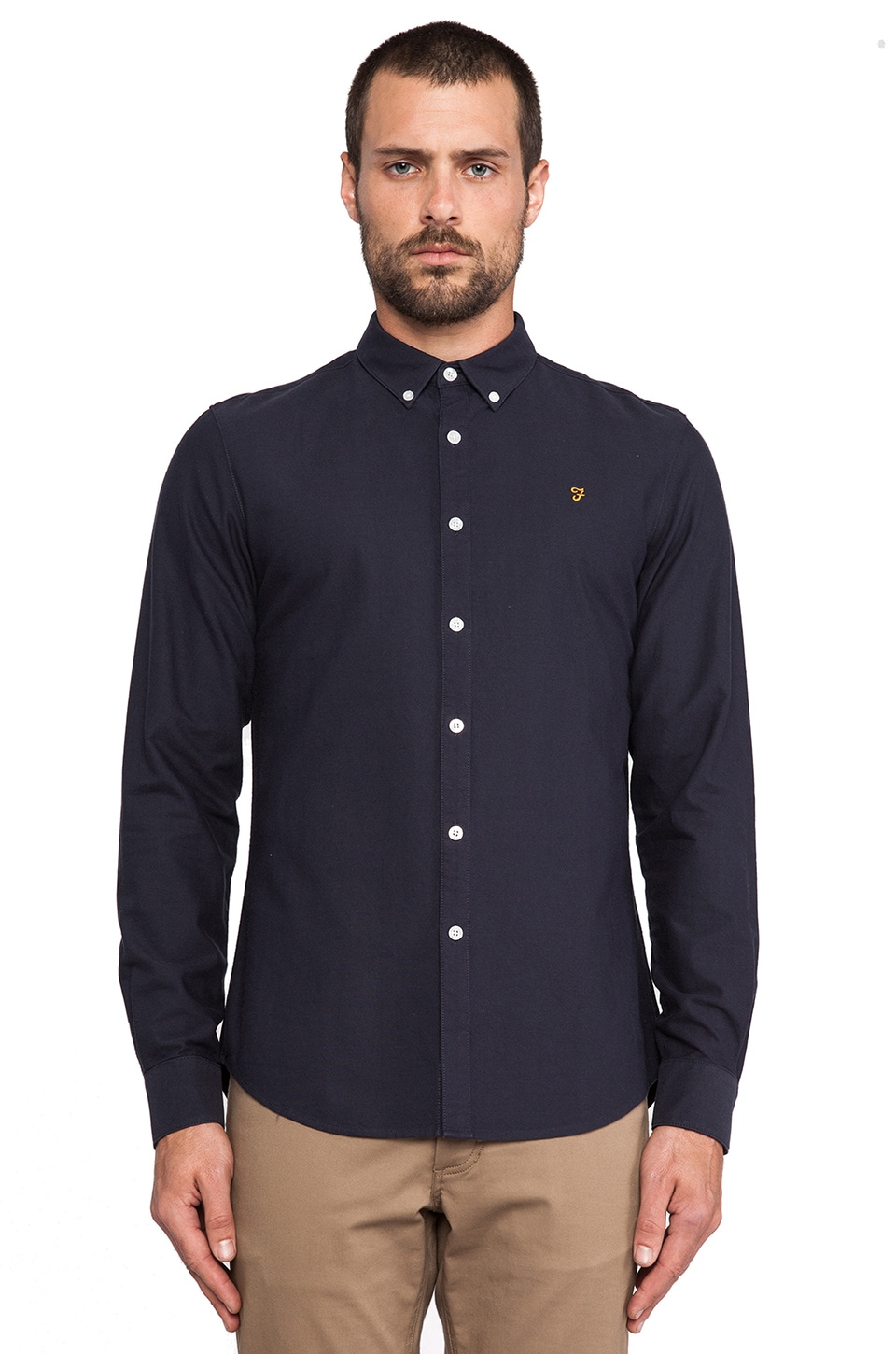 FARAH VINTAGE The Brewer in Navy