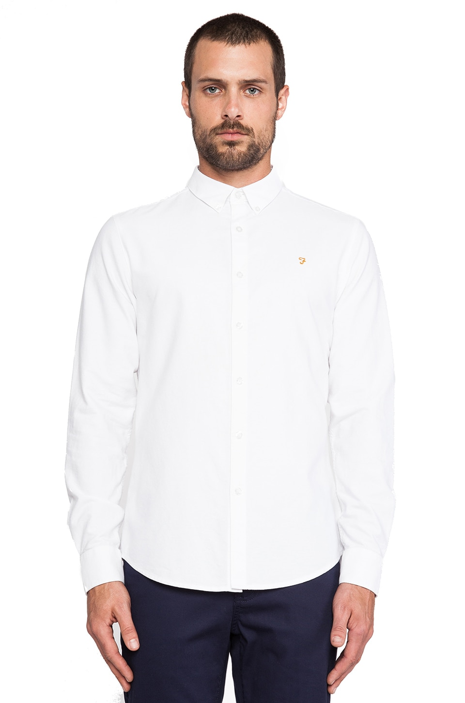 FARAH VINTAGE The Brewer in White