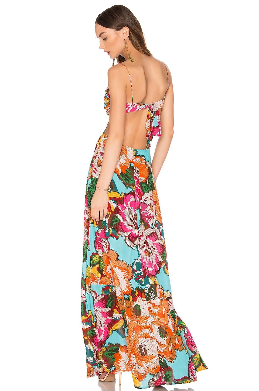 Chita Folk Long Dress by Farm