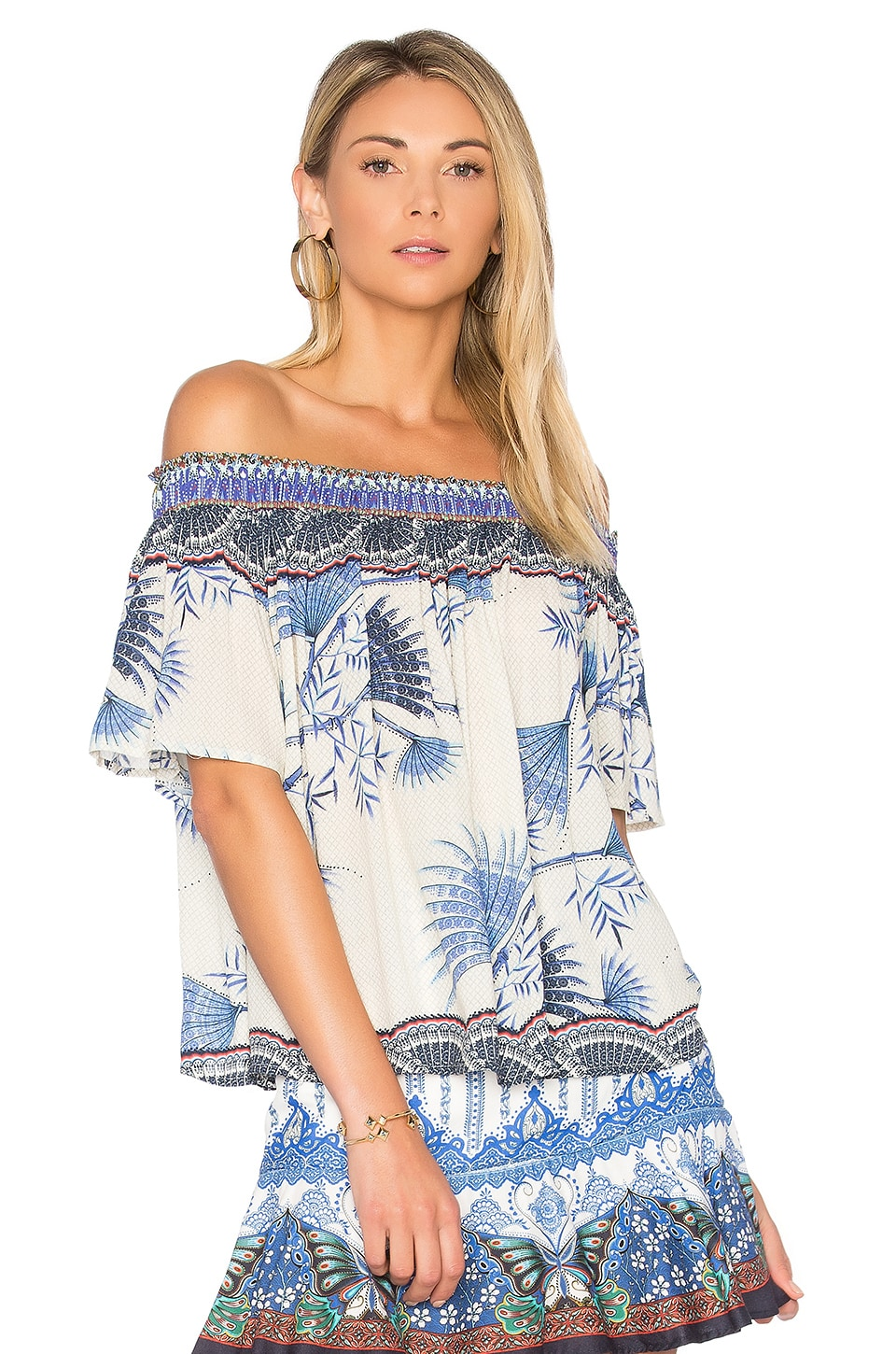 Brisa Off The Shoulder Top by Farm