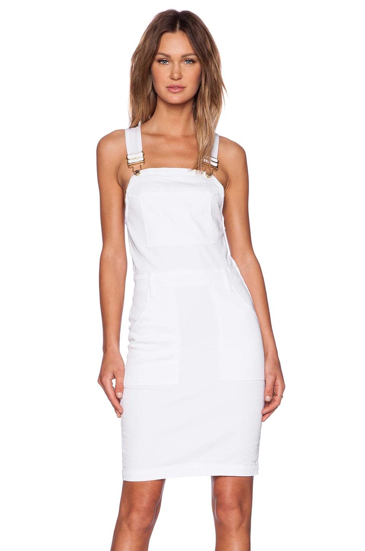 FRAME Denim Le High Pencil Skirt Dress in Blanc