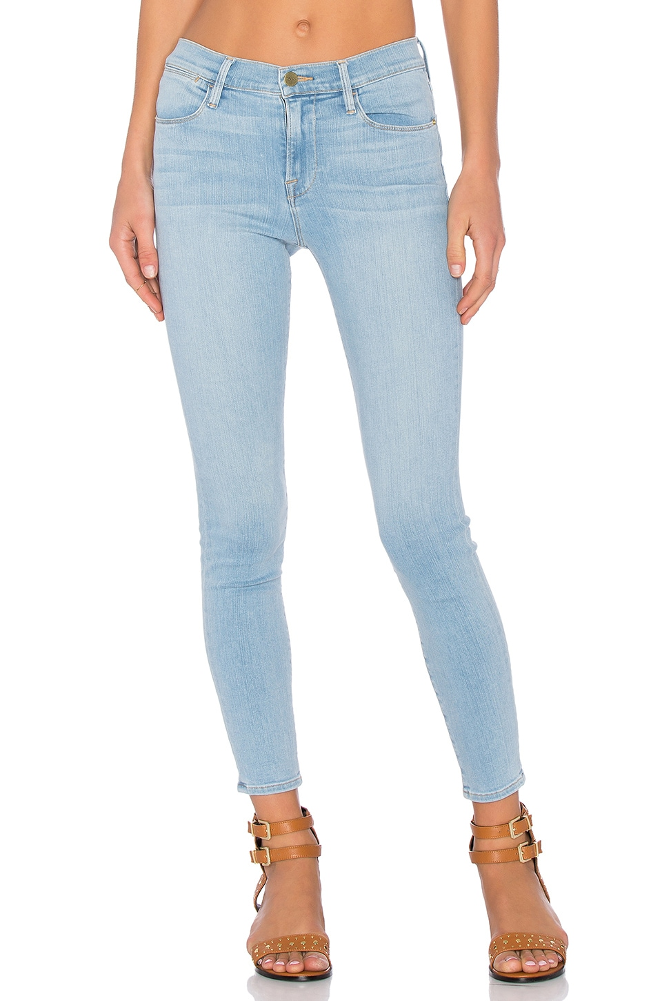 FRAME Denim Le High Skinny in Port Jefferson