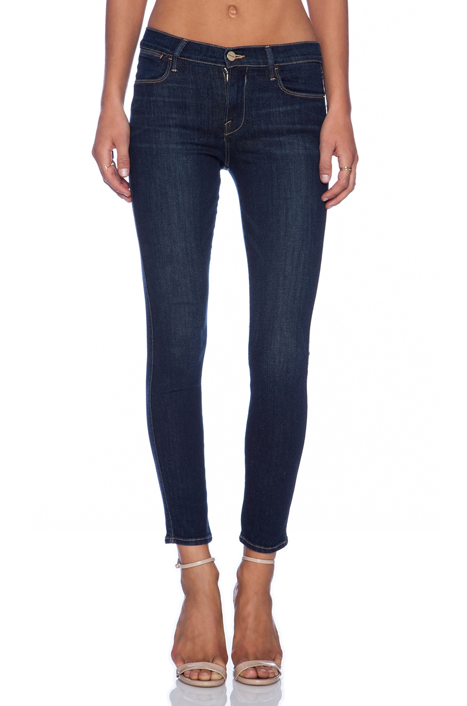 FRAME Denim Le High Skinny in Altair