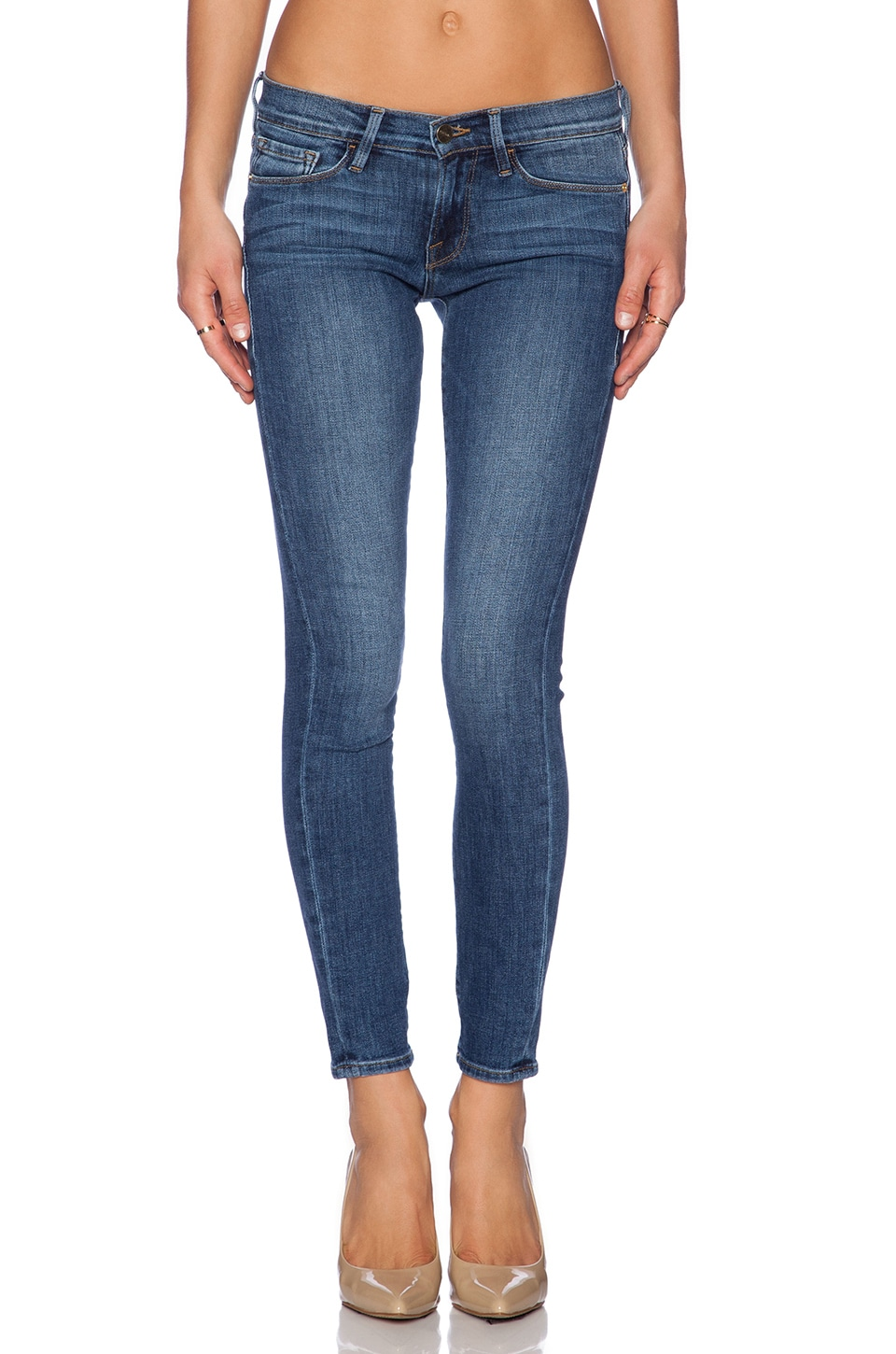 FRAME Denim Le Skinny De Jeanne in Kingslane
