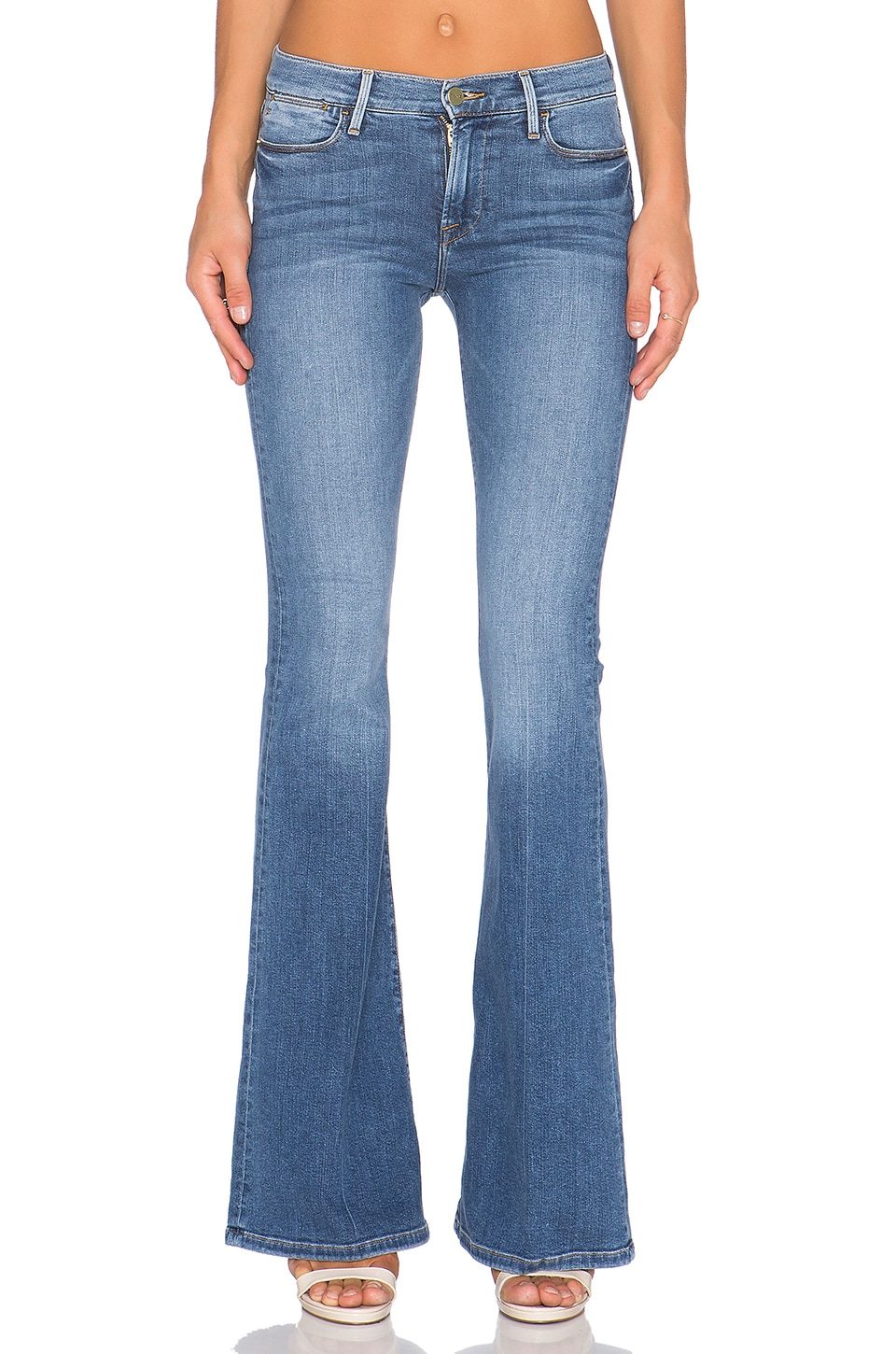 FRAME Denim Le High Flare in Madison
