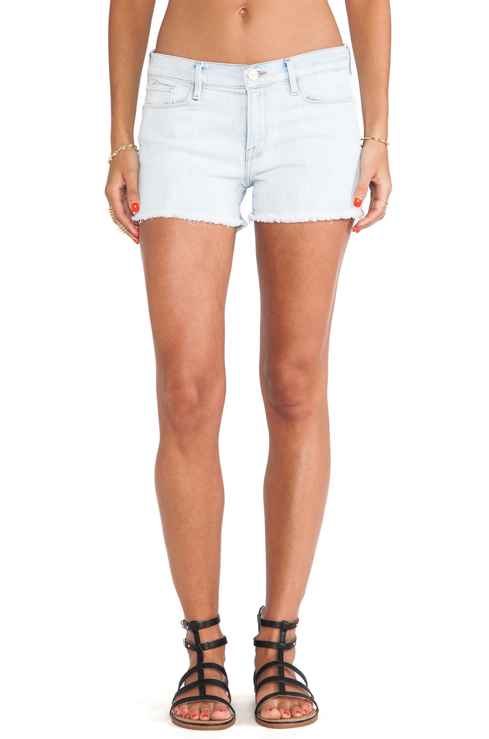 FRAME Denim Le Cutoff Short in Ridgecrest
