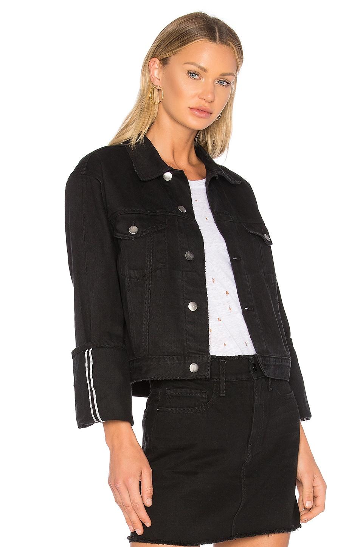 Denim Le Jacket Reverse Overlock Cuff by FRAME