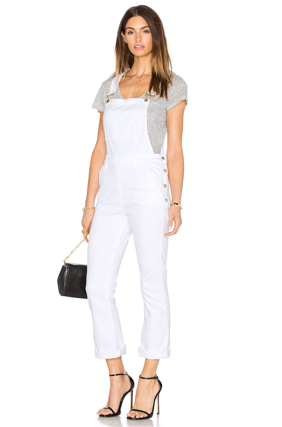 FRAME Denim Le Antibes Jumpsuit in Blanc