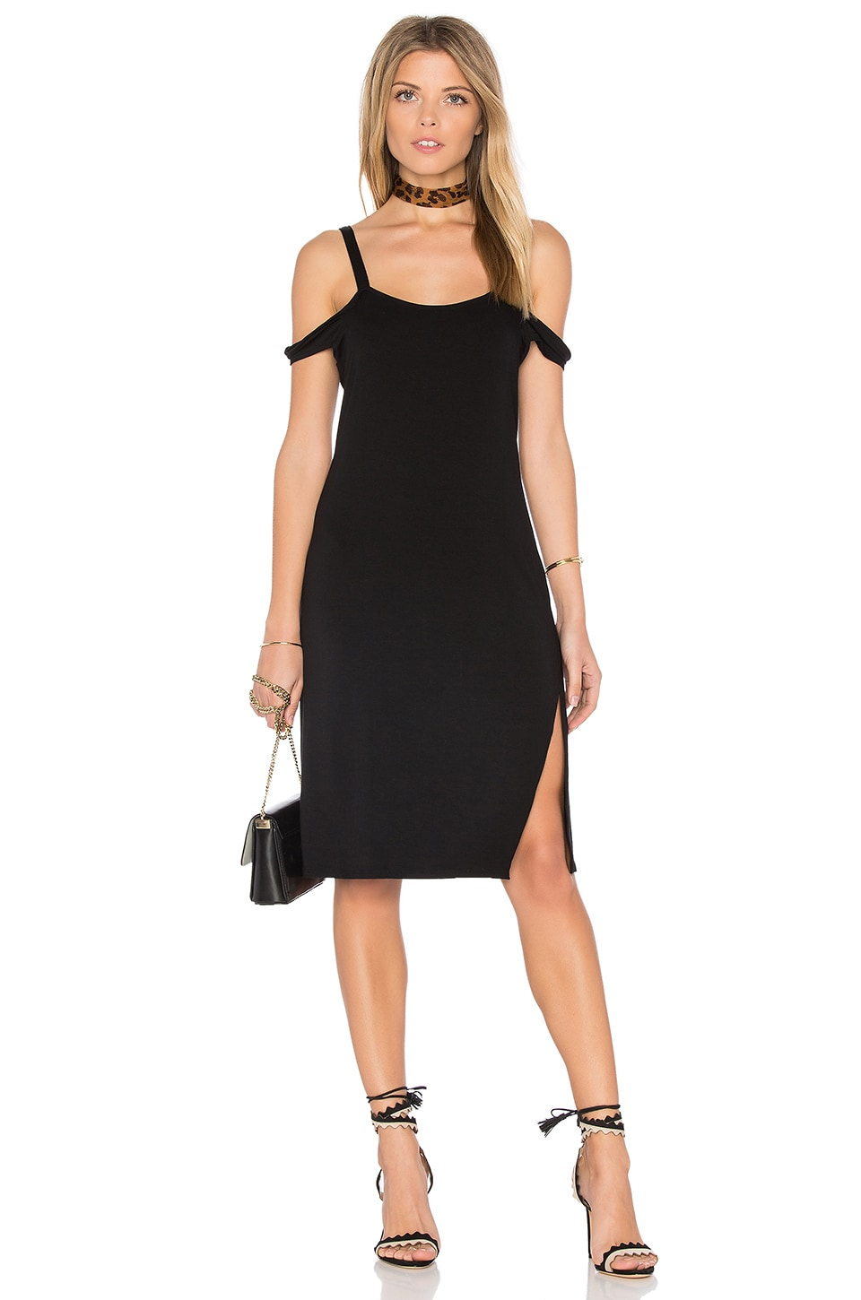 Verkler Cold Shoulder Dress by Feel The Piece