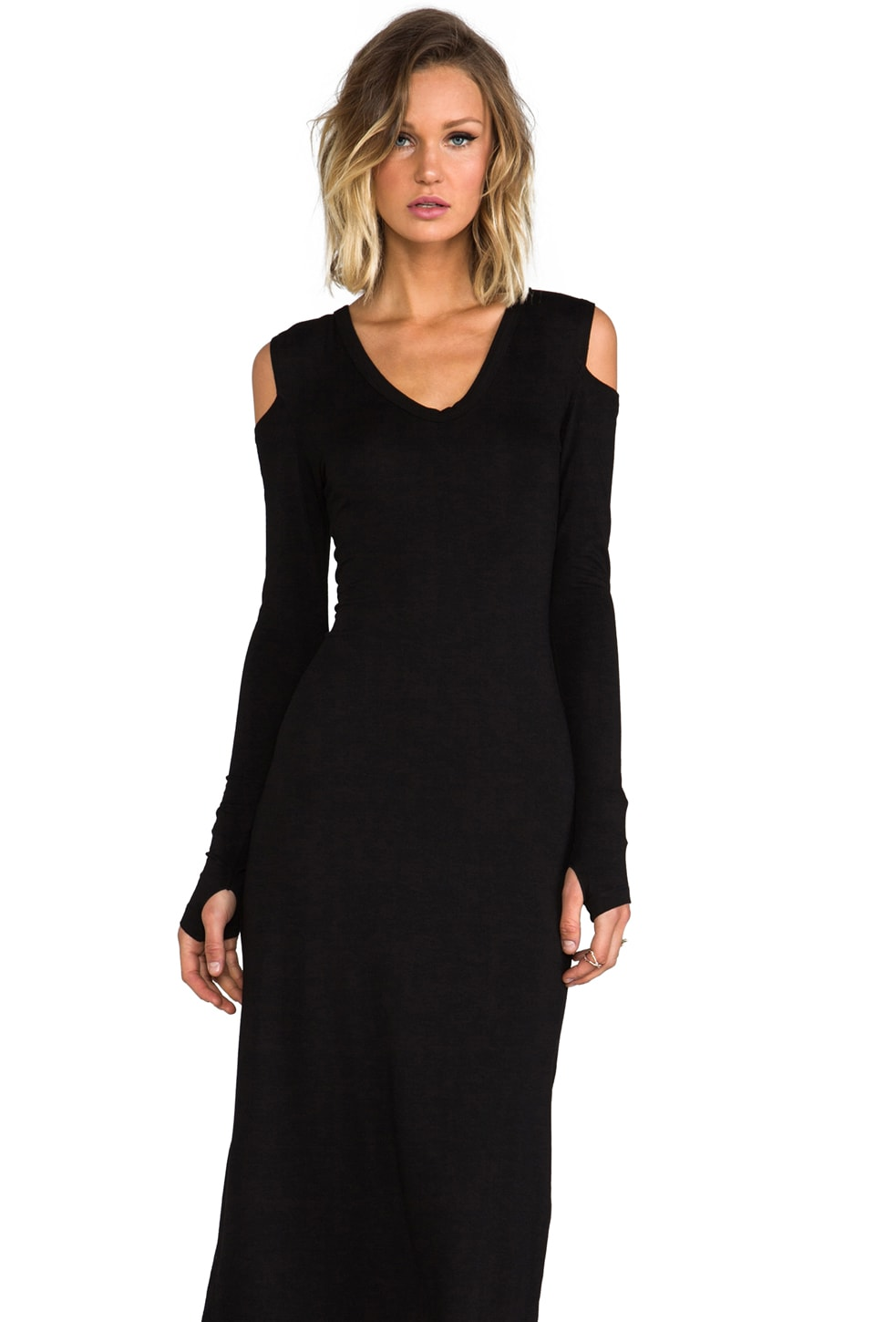Feel the Piece Celine Dress in Black