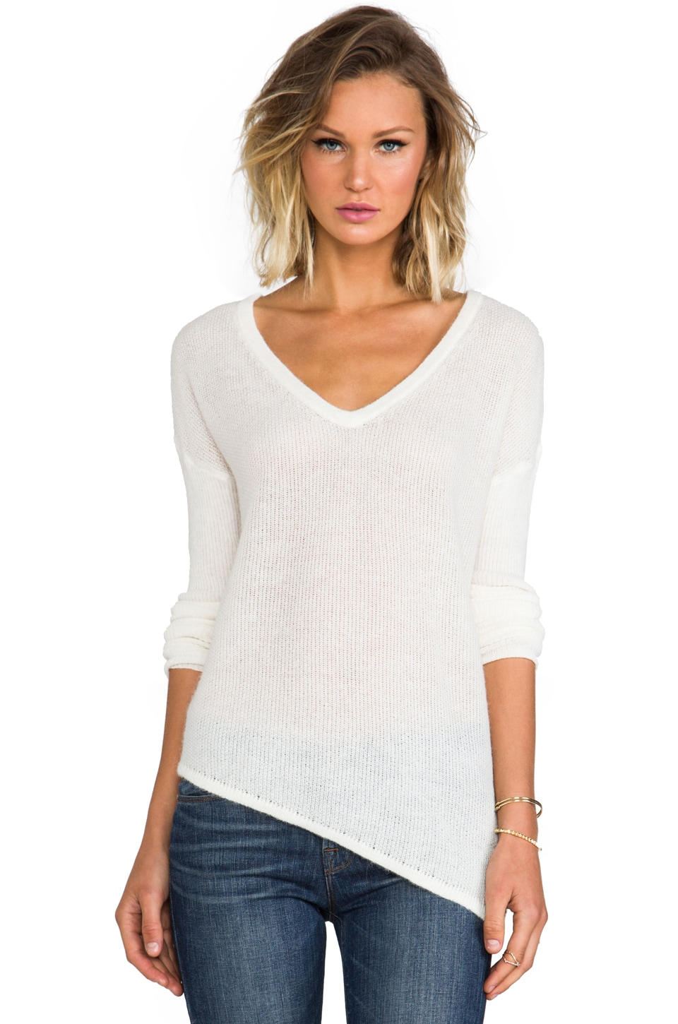 Feel the Piece Marni Sweater in Ivory