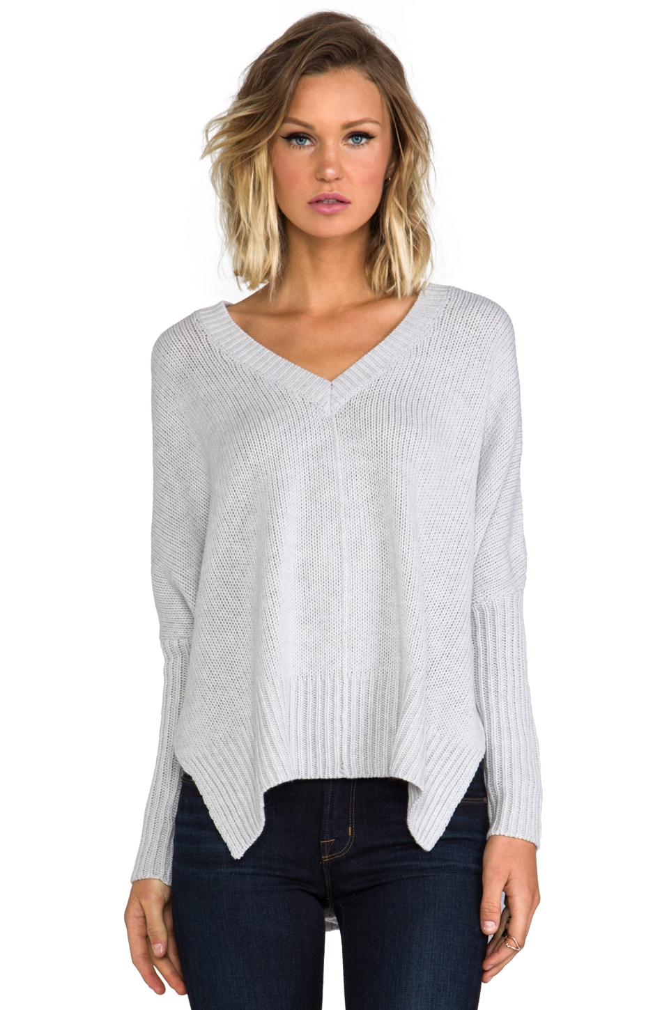 Feel the Piece Darcy Sweater in Cement