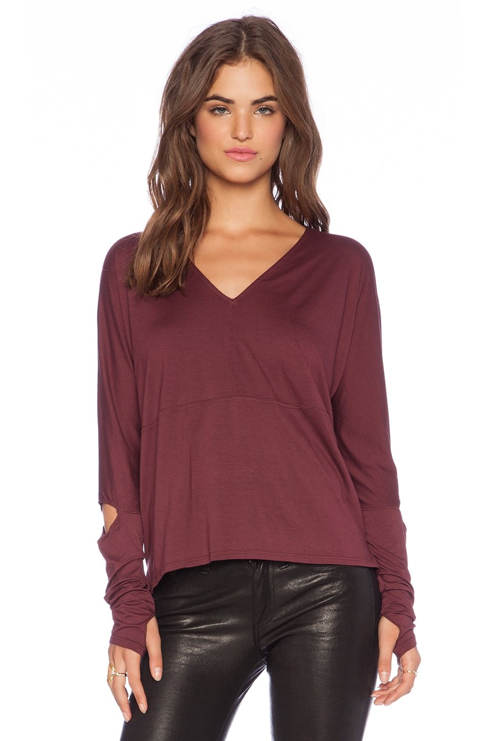 Feel the Piece Maisie Sweater in Redwood