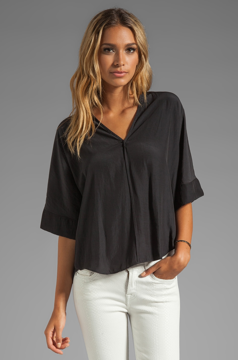 Feel the Piece The Rolland Top in Black
