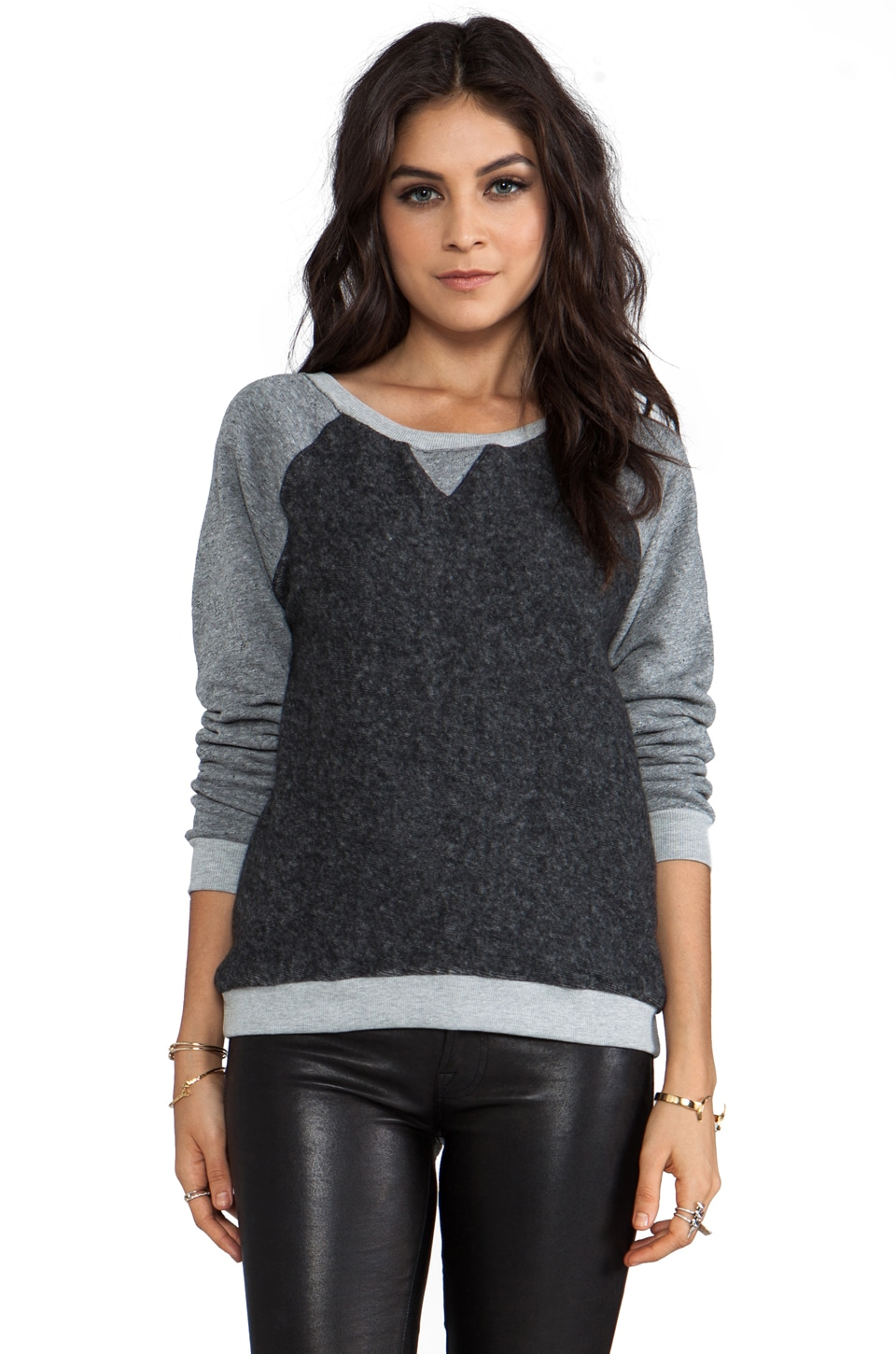 Feel the Piece Shawna Raglan in Minx