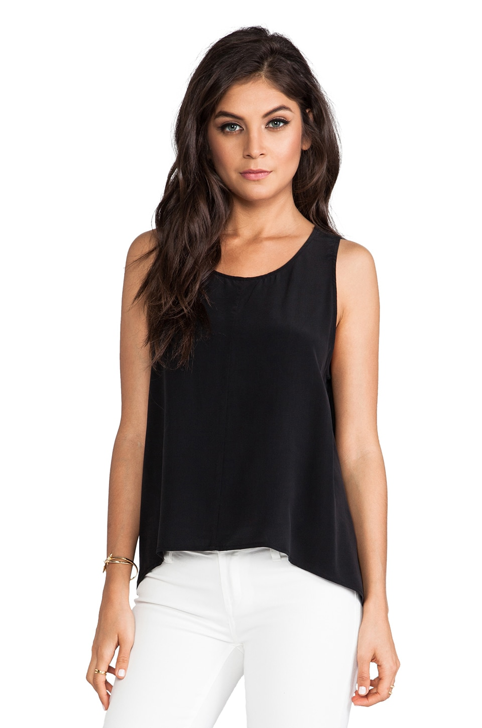 Feel the Piece Farrah Tank in Black