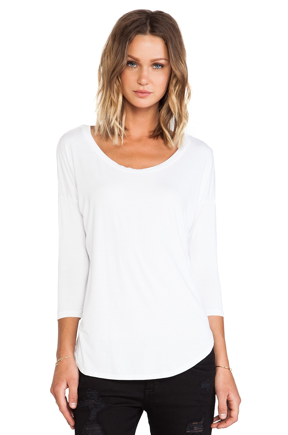 Feel the Piece James Top in White