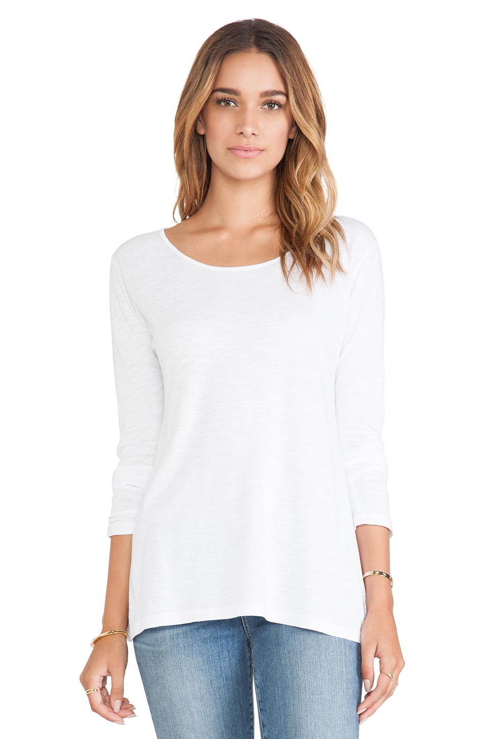 Feel the Piece Alec Top in White