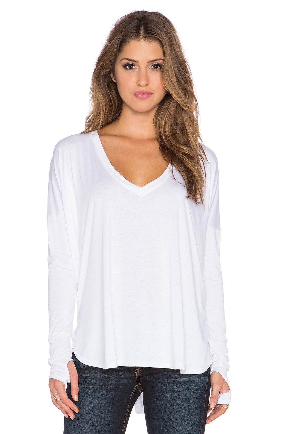 Robin V Neck Tee by Feel The Piece
