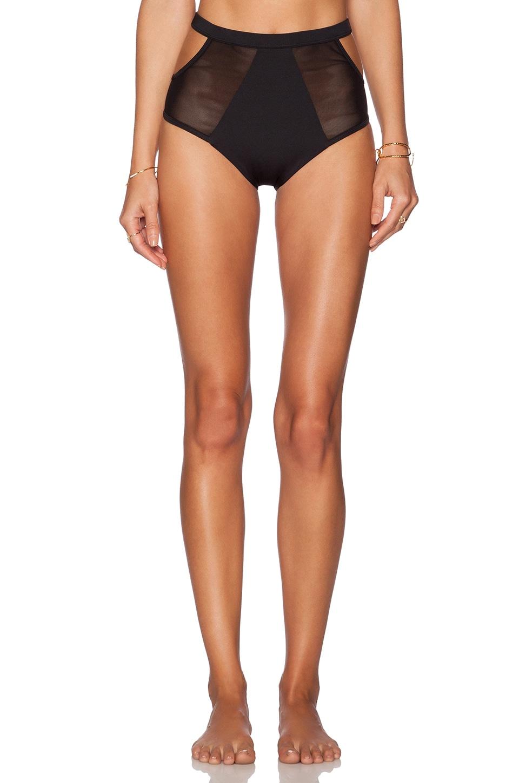 F E L L A Finn Bikini Bottom in Black