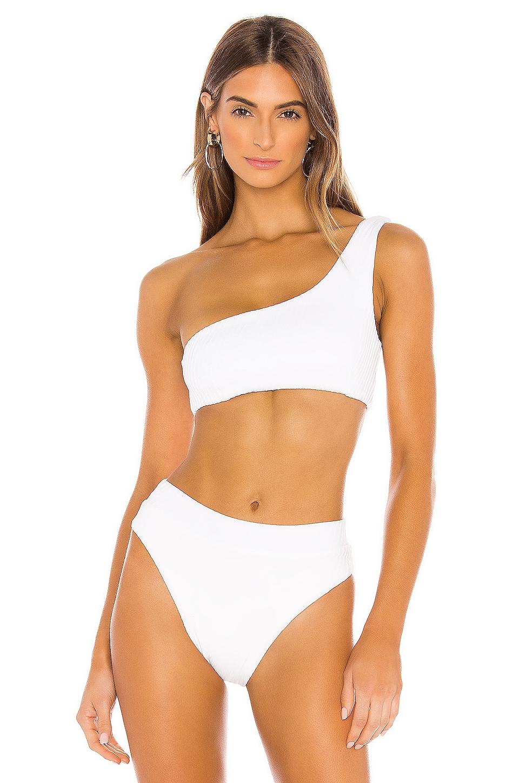 F E L L A Lazarus Bikini Top in White