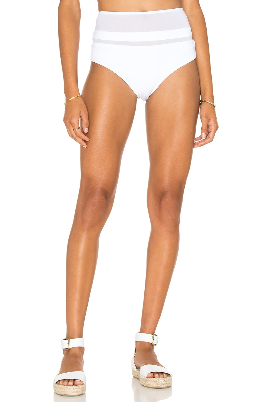 F E L L A Eddy High Waist Bikini Bottom in White