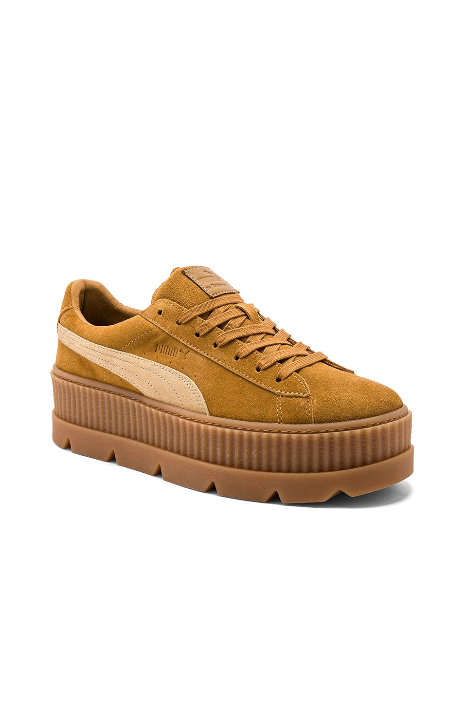 innovative design fec0b c84d9 Fenty by Puma Suede Cleated Creepers in Lark | REVOLVE