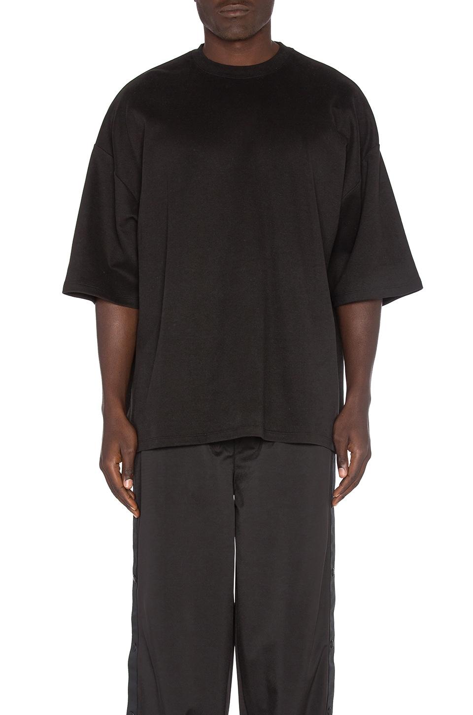 7bf8c387483 Fenty by Puma Oversized Crew Neck T Shirt in Black | REVOLVE