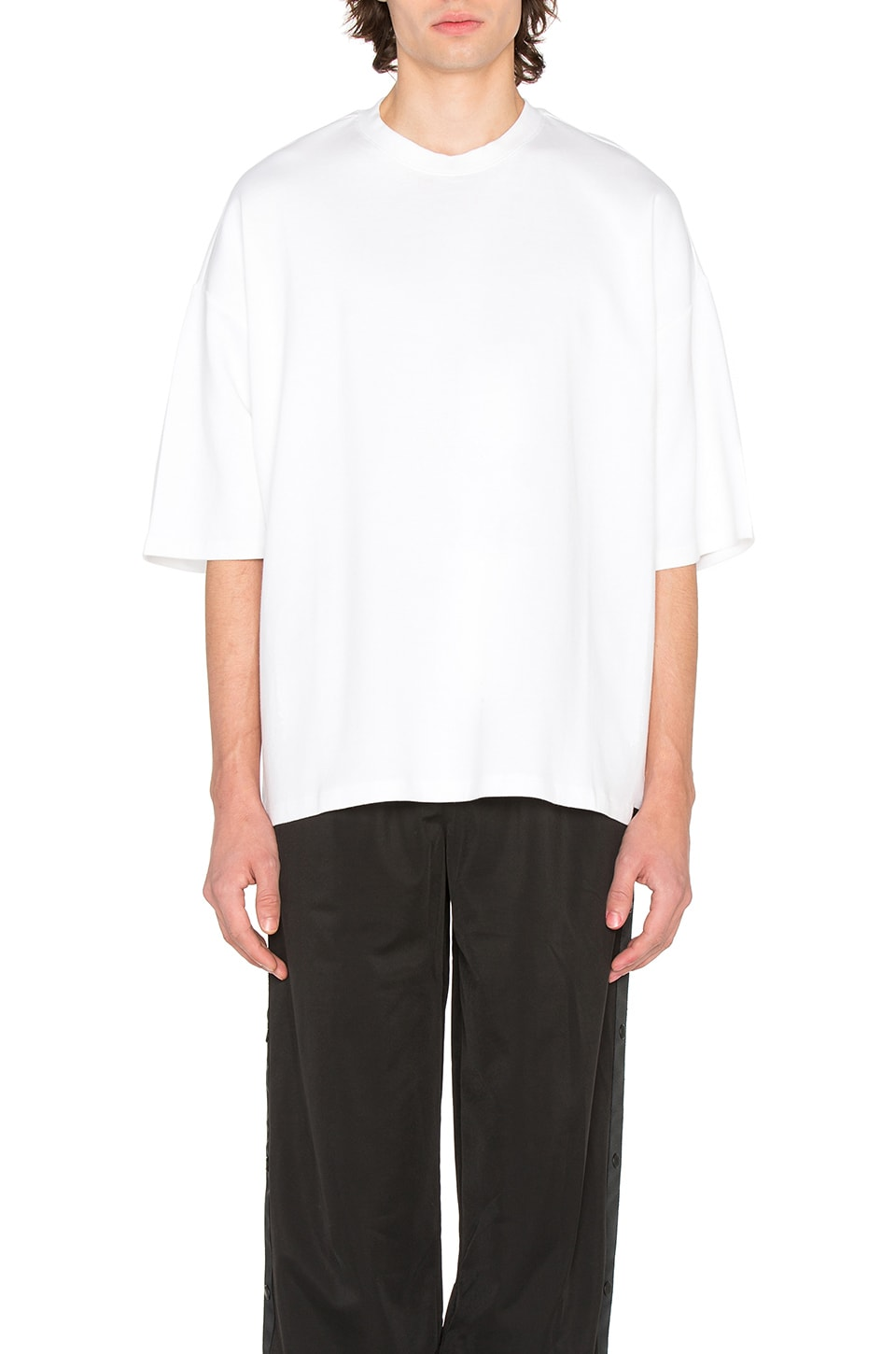 0cf501c9806d Fenty by Puma Oversized Crew Neck T Shirt in White